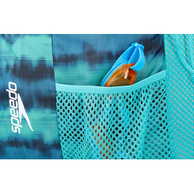 speedo Deluxe Ventilator Mesh Bag 35l Cage Turq